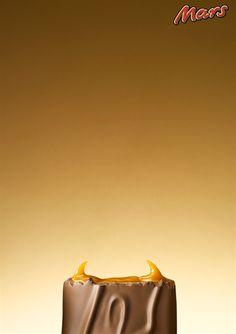 Halloween advertising | Mars - Devil - Sara Morris photography #print #ad