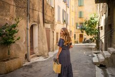 Village of Aups in Provence