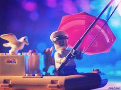 There's a stare-down going on... . #whereisanton #legooldfishingstore #stuckinplastic #lego #minifiguresbigworld #afol #legominifigures #toyslagram_lego #instalego #legostagram #brickcentral #legoart #legography #legogram #joecowlego #brickpichub #bricknetwork #toyartistry_lego #lego_hub #brickshift #vitruvianbrix #brickculture #toy_photographers #utahtoycrew #toydiscovery
