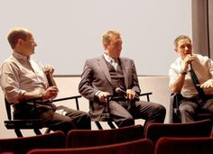 Locke Q&A with Tom Hardy and Director Steven Knight, April 22, 2014 in New York City.
