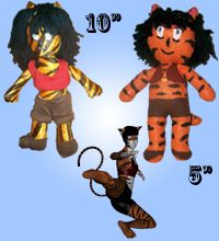 """Athalia AngelFire is today's daily sale star. Her 5"""" size is $15 and her 10"""" size is $6."""