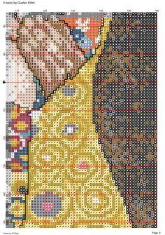 Klimt - Il bacio 7