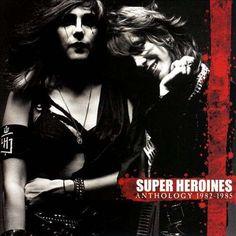 SUPER HEROINES - ANTHOLOGY 1982 - 1985