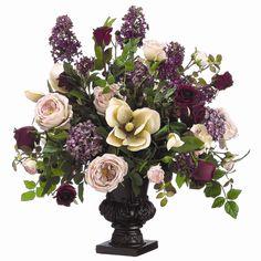 Lilac, rose, magnolia, hydrangea, & blackberry; by Tori Home