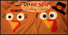 Excellent Project Awesome no-sew t-shirt that can be adapted for any season/tradition/pattern via @Amber Galore #homeschoollinkup