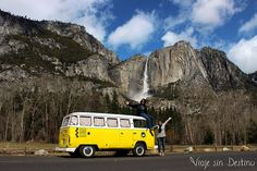 Yellow VW Bus