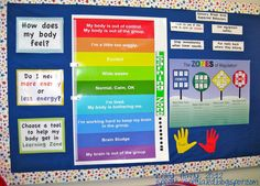 "The Dynamic Duo: The Sensory Break Center. Teach kids to regulate their own mood and behavior by creating a ""sensory break center"" in your classroom! Zones Of Regulation, Emotional Regulation, Self Regulation, Social Behavior, Classroom Behavior, Autism Classroom, Classroom Ideas, Classroom Posters, Classroom Design"