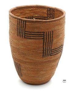 Africa | Basket from the Kissaga region of Uganda | 20th century