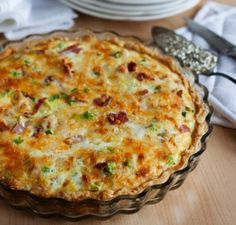 Meat Lovers Quiche 300x287 Meat Lovers Quiche