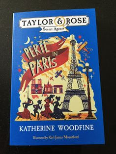 K and O: Bonkers About Books: Peril in Paris - Katherine Woodfine