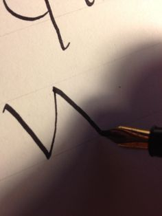 How to Write Calligraphy Lesson 5: Minuscules S-Z