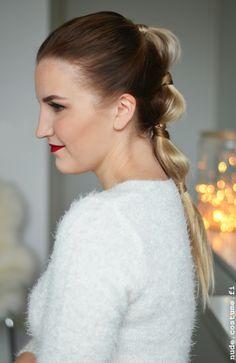 Segmented ponytail inspired by Blake Lively <3