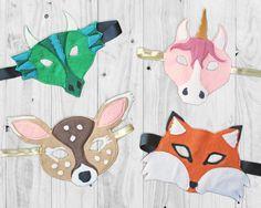 Free Felt Mask Pattern - Rebecca Page
