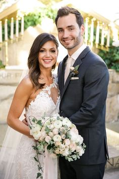 Desiree Hartsock and Chris Siegfried: Now: Desiree Hartsock and Chris Siegfried married in Palos Verdes, CA, in January.