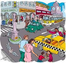 City scene 2 Realidades 3B