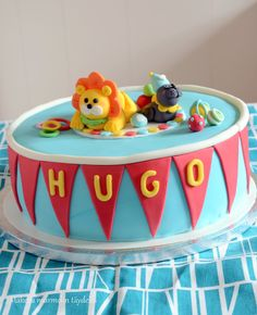 Circus cake Birthday Cake, Party Ideas, Baking, Desserts, Kids, Food, Tailgate Desserts, Young Children, Deserts