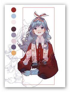 more shepherd gal concepts for final film stuff Character Concept, Character Art, Concept Art, Pretty Art, Cute Art, Manga Art, Anime Art, Art Sketches, Art Drawings