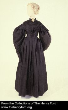 1830-1835 satin, silk, linen, cotton 00.103.387 The Henry Ford