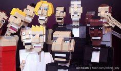 El #selfie de Ellen DeGeneres recreado con #LEGO