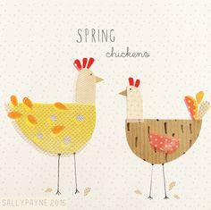 Spring chickens…