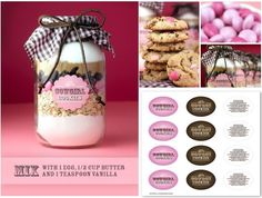 Cowgirl cookie mix jar recipe