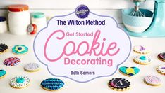 Discover accessible techniques for decorating beautiful cookies that will be the talk of  birthday parties, baby showers, cookie exchanges and more!