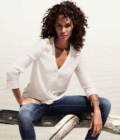 Snapshot: Joan Smalls for H&M's Spring 2013 Lookbook