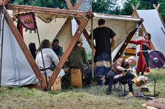 https://flic.kr/p/9SML9D | Svatobor 2011 | annual medieval festival about the living and fighting of Vikings, Varangians ans Slavics in early medieval age for a better sight…