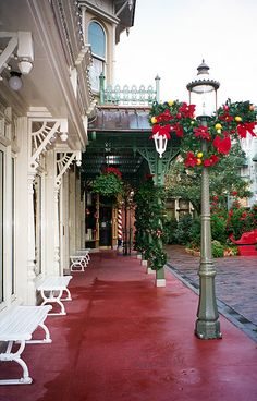 Main Street at WDW.  Love this street, it is magical.