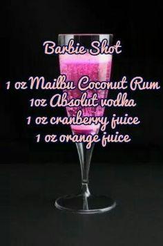 Barbie shots