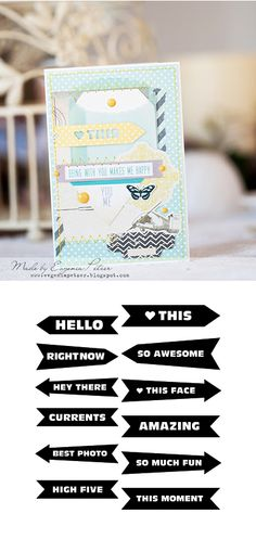 Free arrow sentiment cut files from Chic Tags #Silhouette #CutFile