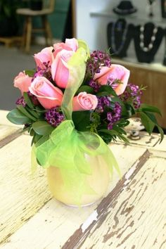 """A Mother's Love"" Mother's Day floral arrangement- by Gaia Flowers."