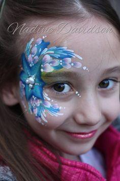 Eye Design - Girls Face Paint   Nadine Davidson   Calgary Face Painter