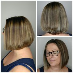 #Avedacolo r and #haircut by Monika  #iamsalonanddayspa #Avedacolor #aveda #melissaiam #hair #stylist #whatsupwilmington #wilmingtonnc #wilmingtonstylist #modernsalon #americansalon #cb #carolinabeach #wb #wrightsvillebeach #wilmington #hairbrained #balayage #behindthechair #angledcut #shortstyles