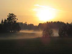 Misty summernight  ~Finnish nature through my eyes - Sari Lapikisto