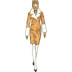 Gareth Pugh FW 2016-2017 #illustration #fashionsketch #fashionillustration #model #sketch #drawing #style #art #photo #fabercastell #design #moda #figure