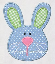 Boy Bunny  appliquecafe.com
