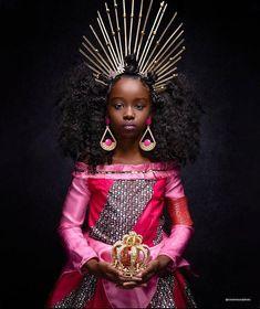 Art Black Love, Black Is Beautiful, Beautiful Images, Young Black, Black Kids, Black Babies, Black Disney Princess, Moda Afro, Black Royalty