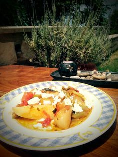 Eva In Tasteland: Πράσα με πατάτα και φρέσκια ντομάτα ή αλλιώς Κεντα...
