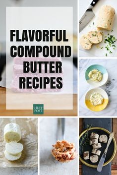 Compound Butter Recipes That Will Make Your Meal Instantly Better Roasted Garlic Butter Recipe, Tomato Butter Recipe, Garlic Herb Butter, Flavored Butter, Compound Butter, How To Grill Steak, Food Hacks, Cooking Recipes, Favorite Recipes