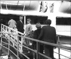 The family boarding the ship the Castel Felice in September 1969.  Australia 1967 | Working on London Underground and South Australian Railways