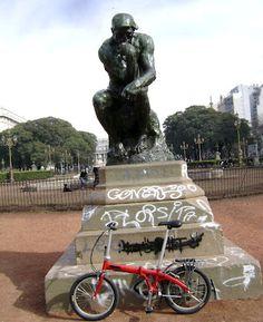 Le Penseur de Rodin-El Pensador de Rodin  buenos aires , argentina