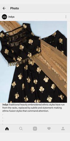 New skirt indian crop top Ideas Choli Designs, Lehenga Designs, Blouse Designs, Crop Top Designs, Indian Wedding Outfits, Indian Outfits, Indian Attire, Indian Wear, Ethnic Fashion