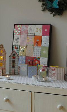 Si encara no heu comprat el calendari d'Advent, aquí us deixo una idea, que jo vaig fer fa uns anys quan les meves filles encara eren...