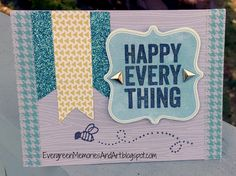 Evergreen Memories: Blog Hop: Happy Everything for Operation Smile
