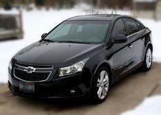 2012 Black Chevy Cruze ~ My Car!