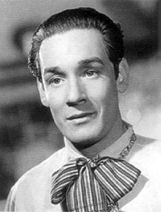 """Tito Guizar, famoso por la Película """"Allá en el Rancho Grande"""" filmada en el año 1936"""