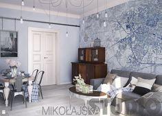 tapeta-wrocław - zdjęcie od MIKOŁAJSKAstudio - Salon - Styl Nowoczesny - MIKOŁAJSKAstudio