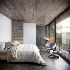 """Mi piace"": 6,367, commenti: 18 - A Designer's Mind (@adesignersmind) su Instagram: ""Weekend bedroom vibes... Project by: Daniel Isern #architecture #homedesign #lifestyle #style…"""