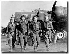 Women in the Airforce: How WASPs Contributed To The WWII War Effort - http://www.warhistoryonline.com/war-articles/women-in-the-airforce-how-wasps-contributed-to-the-wwii-war-effort.html